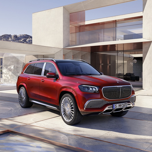 Mercedes-Maybach GLS 600. Присаживайтесь!